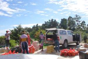 Food Parcel Preparations at Thanda Community