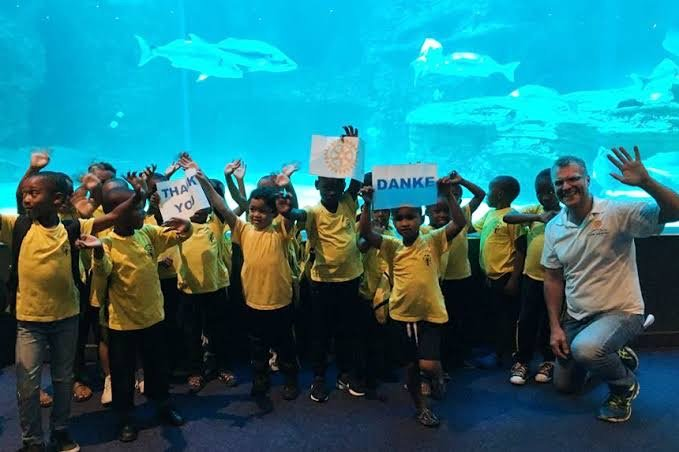 Taking the local Aquarium into African Townships