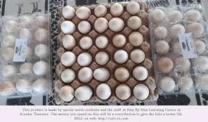 Eggs collected for sale