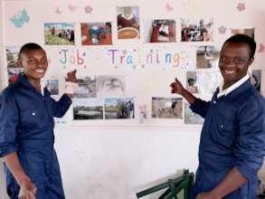 Adults students livelihood training