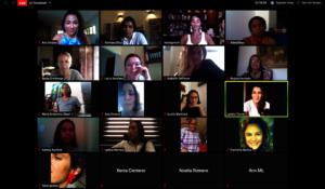 Mujer Voz Vital Training Session