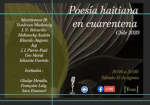 Virtual Recital of Haitian poetry in quarantine