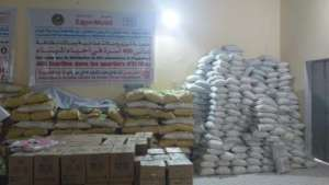 Supplies for emergency distribution