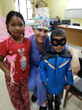 Dr. Jennifer and two children
