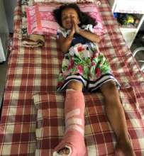 A Thankful Child Post-Surgery