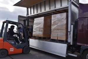 Shipment of 500,000 masks