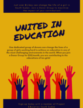 United in Education poster