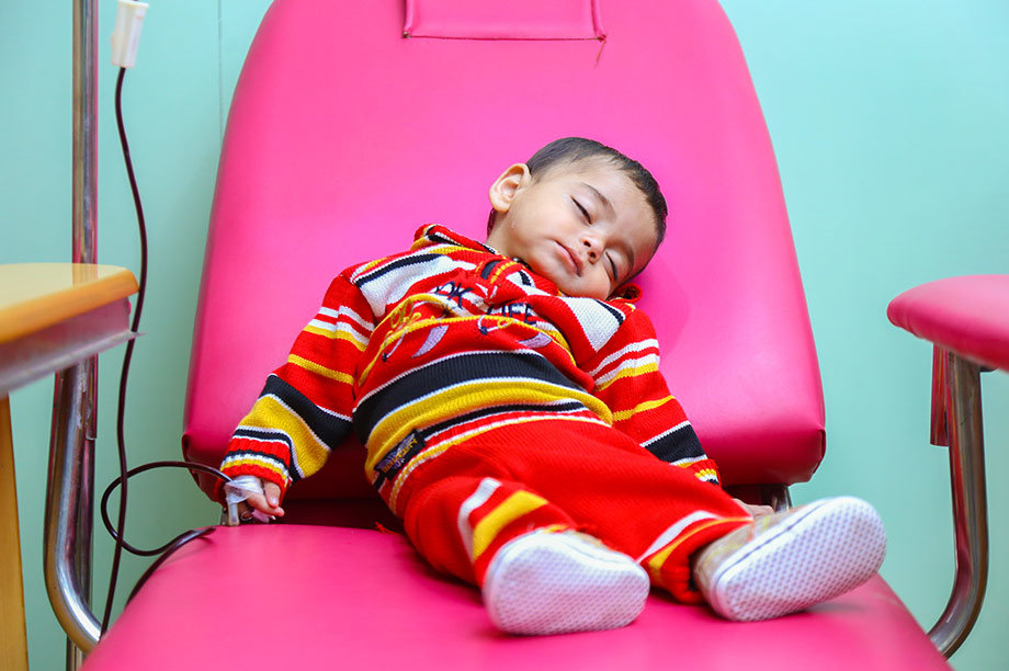 Free treatment for Children with Thalassemia