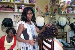 Amitto pays university fees via her hair salon