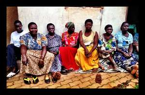 Women in Hope Ofiriha's microloan group
