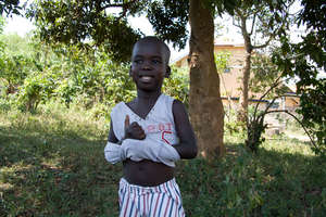 Mathew Hobbe-sponsored child