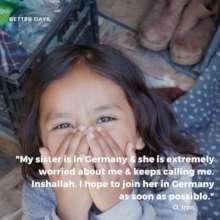 A statement from an unaccompanied minor