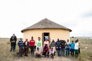 One of Zintathu's HIV Support Groups