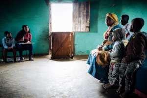 Zinathu at a Home Visit