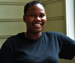 Basia T, College Graduate