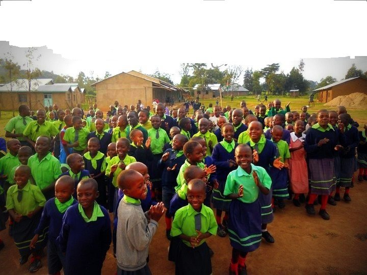 Help complete the construction of classrooms Block