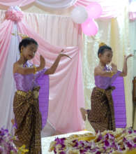 All students enjoy learning traditional dance