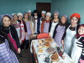 Vocational education for 500 women in villages