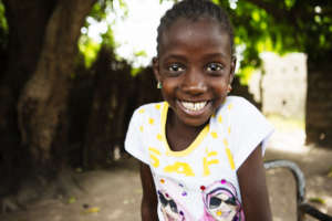 Fatoumata can't wait to get back to school.
