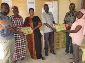 GMP donated 1,000 bars of soap to local villages.