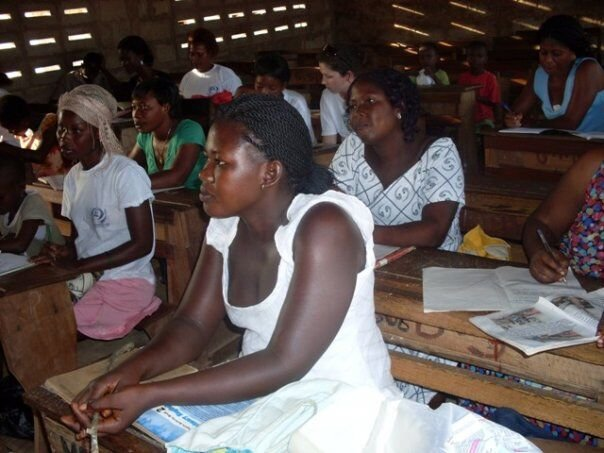 Adult Education in the Gbawe community