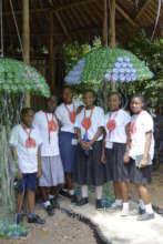 School visit to learn about sustainability