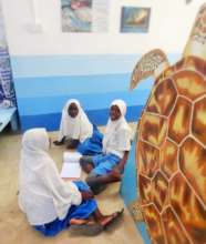 Students Visiting the Marine Education Centre