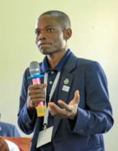 Ambrose speaking at AGcelerate