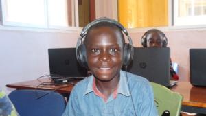 Benja at Elimu Resource Centre