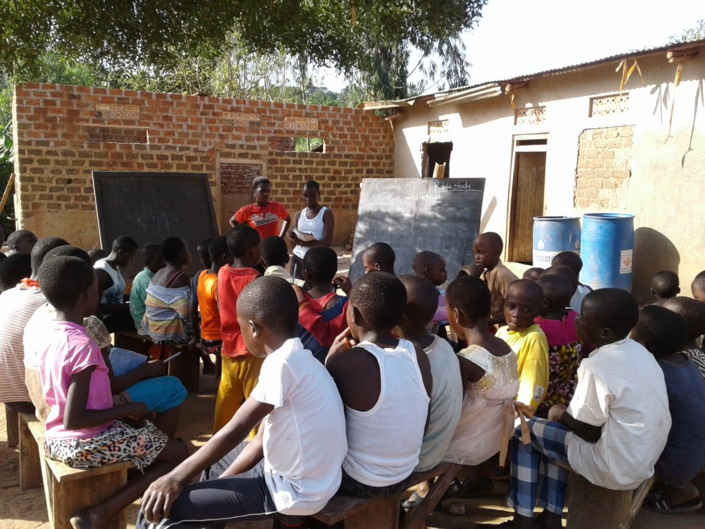 Building a home and school for Orphaned Children