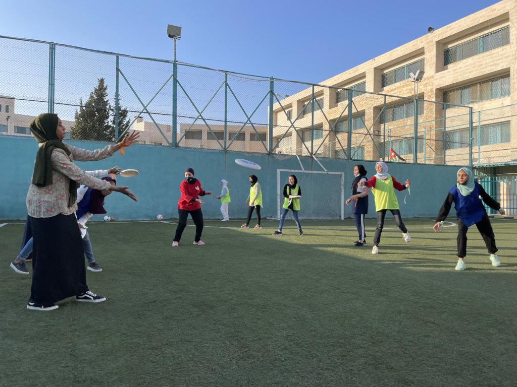 Build Community through Sport for Girls in Jordan