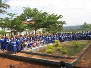 Our partner school, Nangina Girls