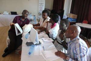 Training of Health workers in Kisumu