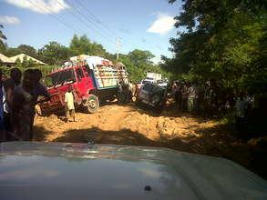 Poor road conditions hampering medicine delivery