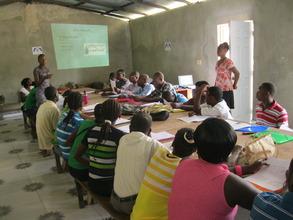 Group cholera training