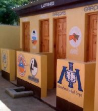 New latrines for boys and girls