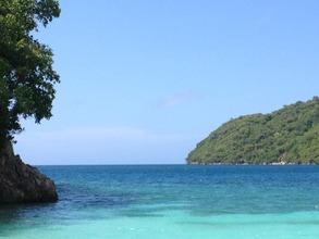 Paradise beach, Labadee, Haiti