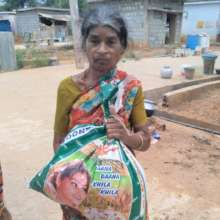 Distributed relief to a family