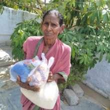 relief  taken by a an elder woman