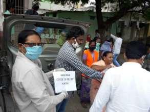 Relief In guntur slums