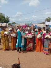 Migrated families at Edlapadu