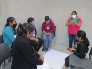 Encounters with women in Hogar Comunitario