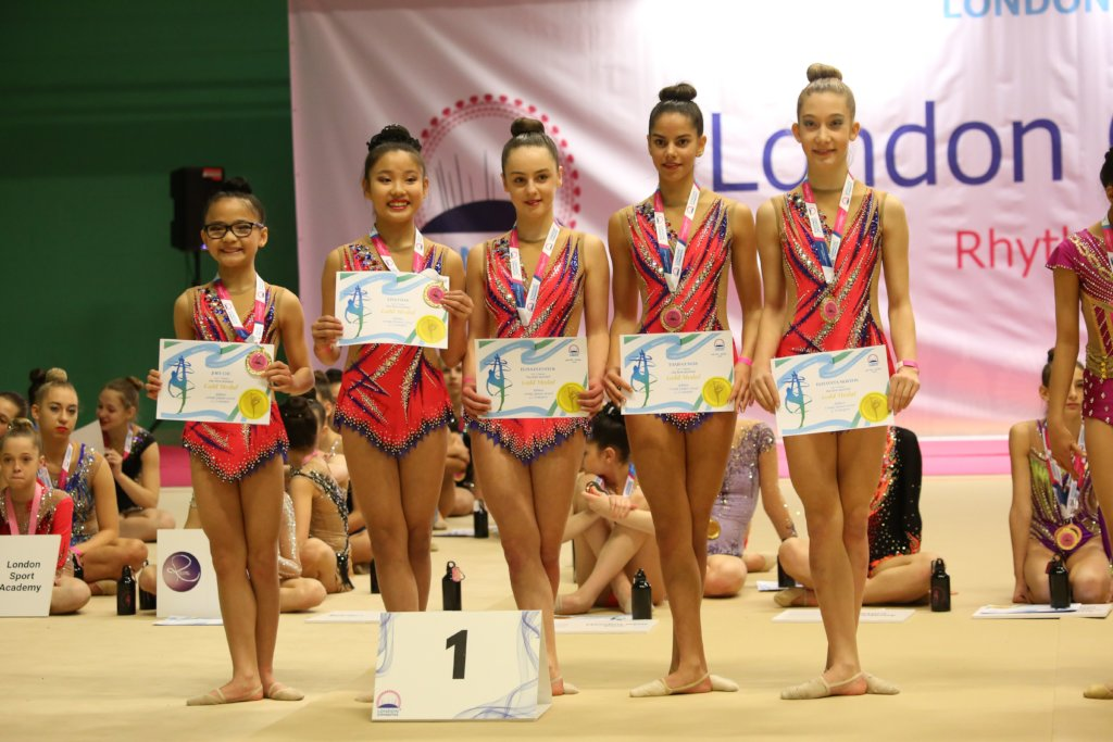 Sponsor Rhythmic Gymnastics Carpet for London kids