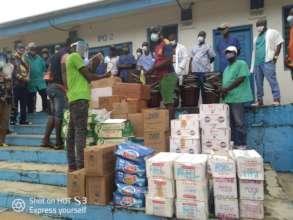 Receiving medical supplies