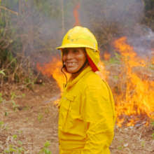 Building Community Fire Fighting Capacity
