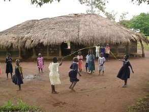 Kids Playing at a Rural ECD Center