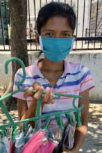 We purchased masks from vulnerable street vendors