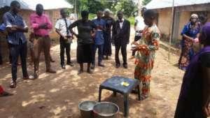 Coronavirus Prevention training to rural villages