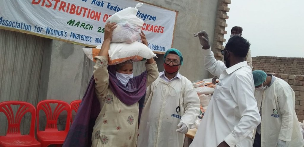 Relief in COVID- 19 crises in Pakistan