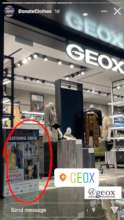 Get Redressed Collection Box in Store at GEOX
